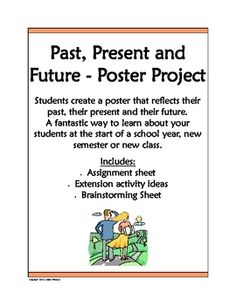 Great poster & writing project for the New Year.
