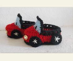Free Crochet Baby Booty & Sock Patterns