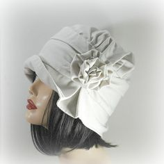 gorgeous handmade cloche, $79.50 from Etsy . . .