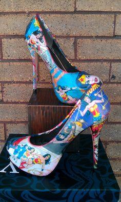 Wonder Woman Style 2 not vintaged by FaithisFabulous on Etsy, $85.00