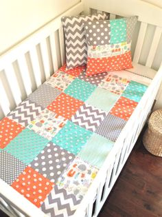 Monsters Baby boy Quilt