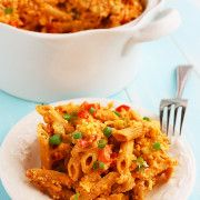 The Comfort of Cooking » Buffalo Chicken Mac 'n Cheese