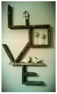wall art, idea, pallet projects, pallet shelves, wall decorations, hous, pallets, barn wood, pallet wood