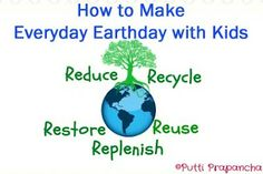 How to make everyday Earthday with kids...