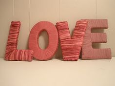LOVE wrapped letters. See how you can make your own for your #valentine.