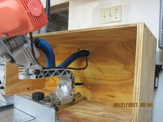 Miter Saw Dust Collection Hood - by Blackie_ @ LumberJocks.com ~ woodworking community