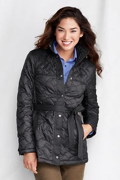 Women's Quilted Insulator Parka from Lands' End