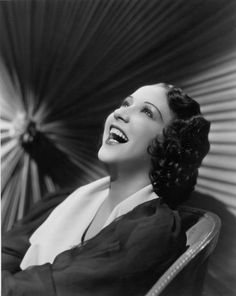 Ethel Merman, 1934.