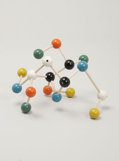 Wooden Molecule Building Set