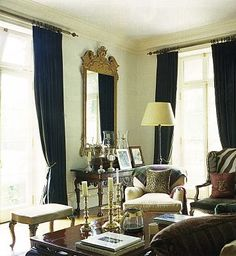 Ralph Lauren's house in Bedford decor, ralph lauren, animals, candlesticks, window, design art, hous, brass, live room