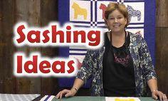 Quilt Sashing Ideas - Quilting Techniques quilting techniques sashes, quilt skill, missouri star, quilt sash, quilt techniqu, star quilt, tutori quilt, sash idea, quilt tutori
