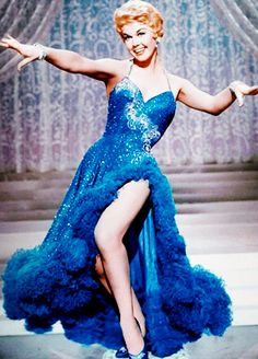 8/15/14  11:53a  MGM ''Love Me or Leave Me''  1955    Sky Blue Dress Doris Day was born Doris Mary Ann Kappelhoff in Cincinnati  4/3/1924.