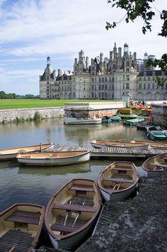 Château de Chambord,vallée de la Loire France