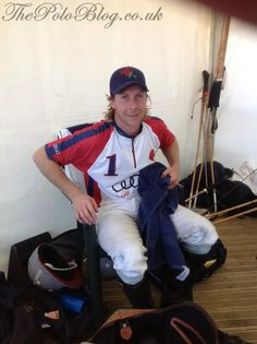 James Beim - one of the best English players - he's been at the top of his craft for 10 years, winning The Prince of Wales Cup and The Queen's Cup aged 22, and his first Cowdray Gold Cup in 1998 with top team Ellerston.