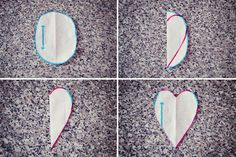 #Tutorial# Heart-shaped Elbow Patches