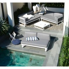 Pontoon 2-Seater Armless Sofa | Domayne Online Store
