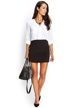 outfit, hem mini, 1580 skirt, mini skirts, dolphin hem