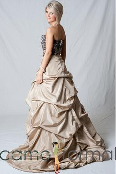 My Senior Prom dress? Yes I believe so! I love Camo Formal!