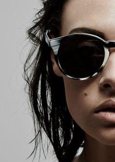 The Illesteva Lily Sunglasses in Horn