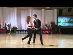 She's so polished. Melissa Rutz & Jordan Frisbee US Open Swing Dance Championships  Strictly Swing 2012  West Coast Swing