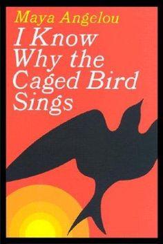 maya angelou, books, worth read, cage bird, book worth, bird sing, birds, book titles, book jackets