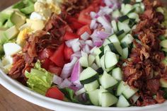 Cobb Salad with Creamy French Dressing