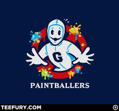 Greendale Human Beings Paintballers T-shirt!
