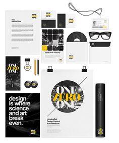 ident mockup, flat stationeri, corporate identity, identity design, stationery design, stationeri design