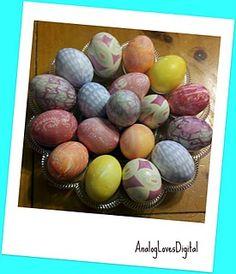 Silk Tie Dyed Eggs!