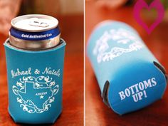 love the sayings in the bottom of the koozie!