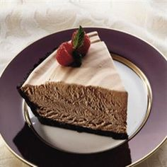 Eagle Brand Chocolate Mousse Pie