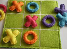Kids Tic Tac Toe Game Set