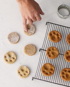Paw-Print Dog Treats - Martha Stewart Recipes I might be willing to try a new recipe...but I like the design