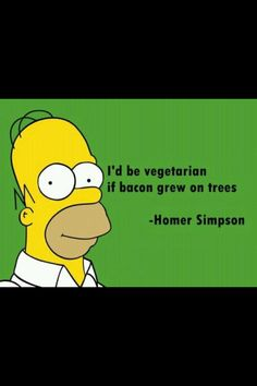 Homer Simpson gets it right