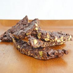 Chocolate Trail Mix Bark from More Quick-Fix Vegan