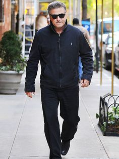 Alec Baldwin, in masculine black shades, looked cool, calm 'n' collected as he strolled through NYC, just days after his former stalker was sentenced to jail time.