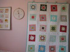 born, aneela hoey, delight idea, wonki star, stars, quilt inspir, star quilts, quilt idea, quilti frame