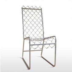 idea, fenc, chair design, chain link
