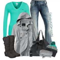 perfect Winter Outfit! cute!