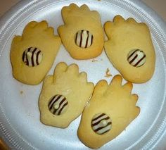 The Kissing Hand cookies snack idea