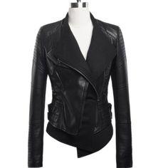 Echo Concept Women's Faux Leather Jacket