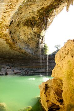 The Hamilton Pool, Austin, Texas.  Maybe make a visit when we're back in Austin?