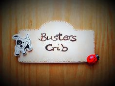 Personalised Wooden Plaque: Plaques for Pets