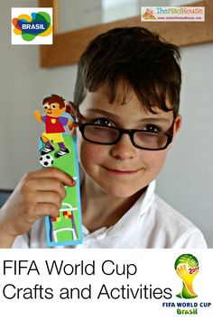 Fifa world cup crafts and activities for kids. #BigMatchPlanner #shop #cbias