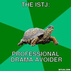 The ISTJ wow. I love it!