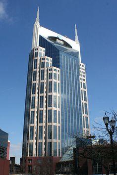 oh the batman building - definitely makes the nashville skyline unique