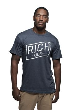 """""""Rich Flag"""" tee from our brand new Summer line."""