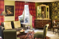 We felt more at home in this hotel in Paris than anywhere else we have been. Hotel Royal St. Germain Paris