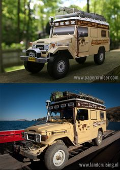 Toyota BJ45 Troopy Land Cruiser | Papercruiser.com