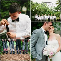 Farm Wedding Groom and Groomsmen